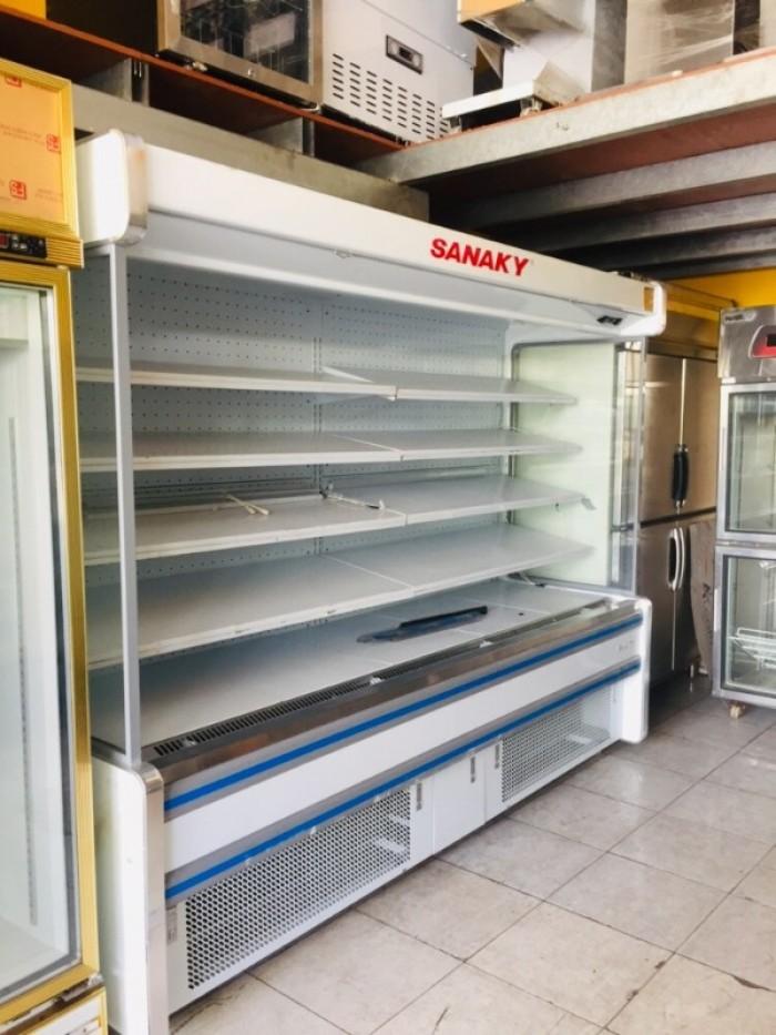 Tủ trưng bày siêu thị Sanaky0