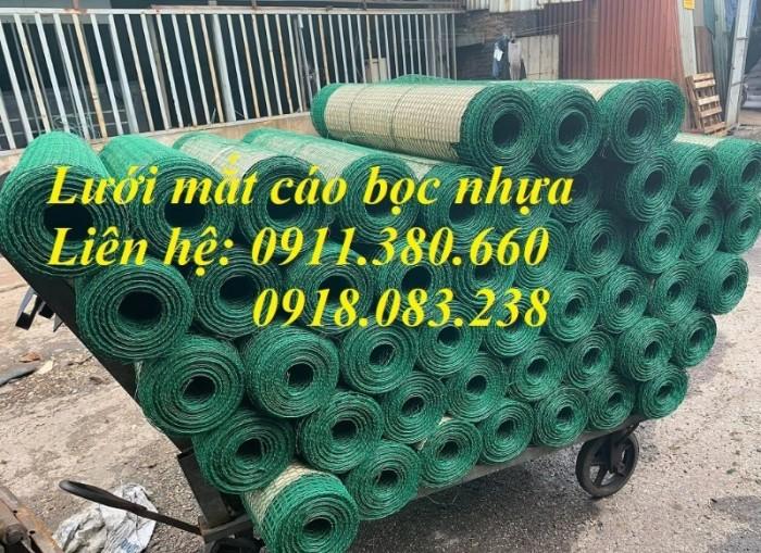 Nơi bán lưới mắt cáo bọc nhựa khổ 0,5m/ cuộn; 1m/cuộn1