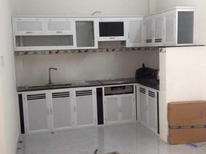 Tủ bếp nhôm kính, tủ đặt cao cấp0