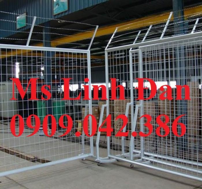Lưới thép hàng rào di động, lưới thép hàng rào chắn tạm thời,16