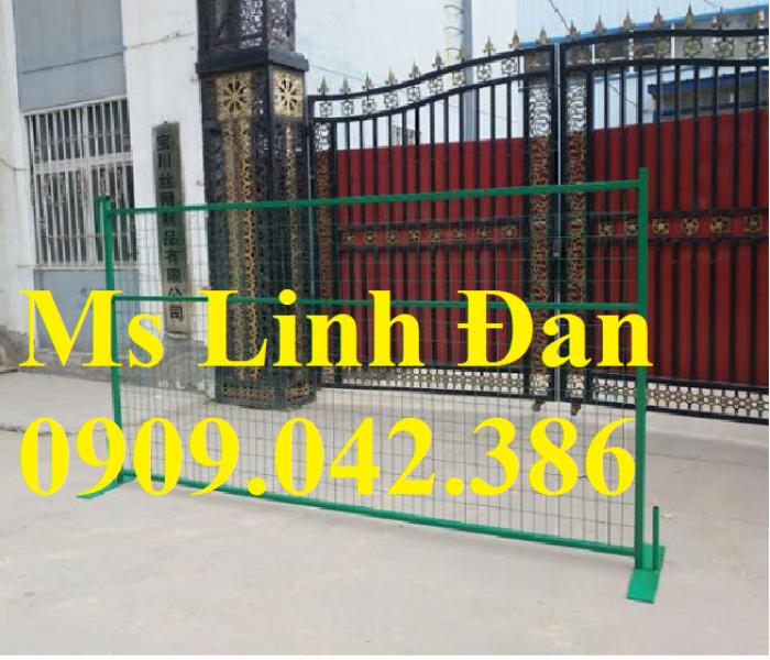 Lưới thép hàng rào di động, lưới thép hàng rào chắn tạm thời,4