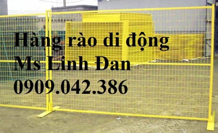 Lưới thép hàng rào di động, lưới thép hàng rào chắn tạm thời,11