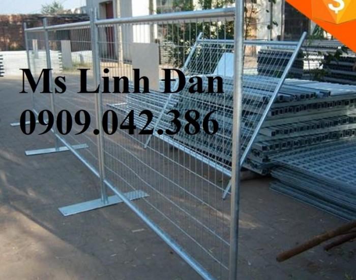 Lưới thép hàng rào di động, lưới thép hàng rào chắn tạm thời,14
