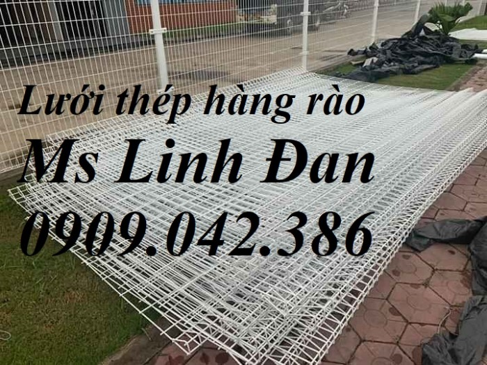 Lưới thép hàng rào gập 2 đầu, lưới thép hàng rào chấn 2 đầu mạ kẽm,11