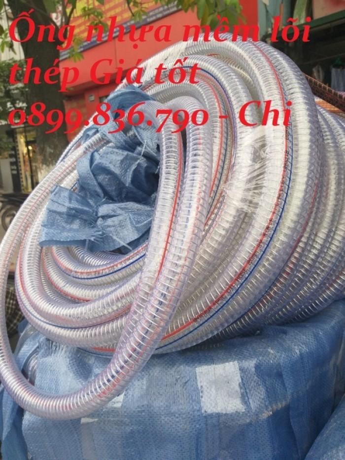 Ống nhựa PVC lõi thép phi 15015