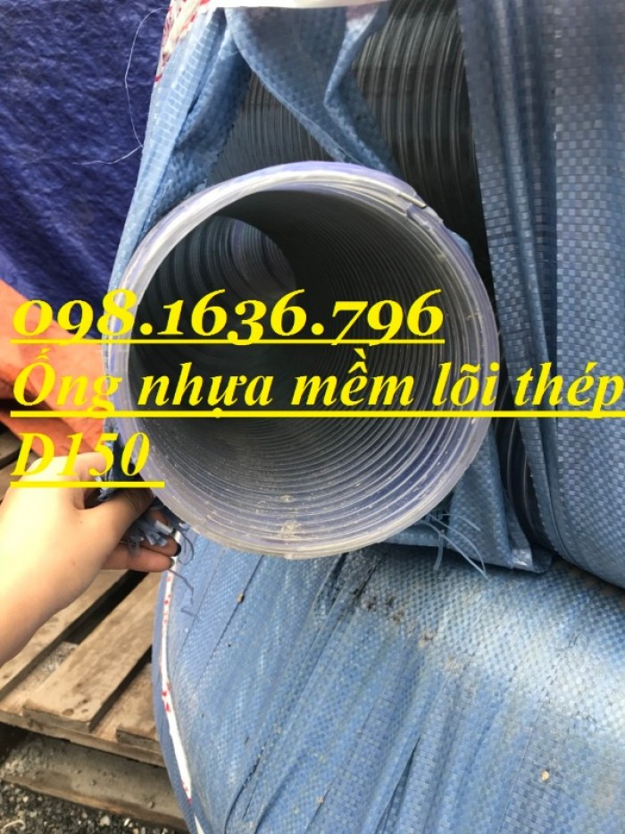 Ống nhựa PVC lõi thép phi 15013