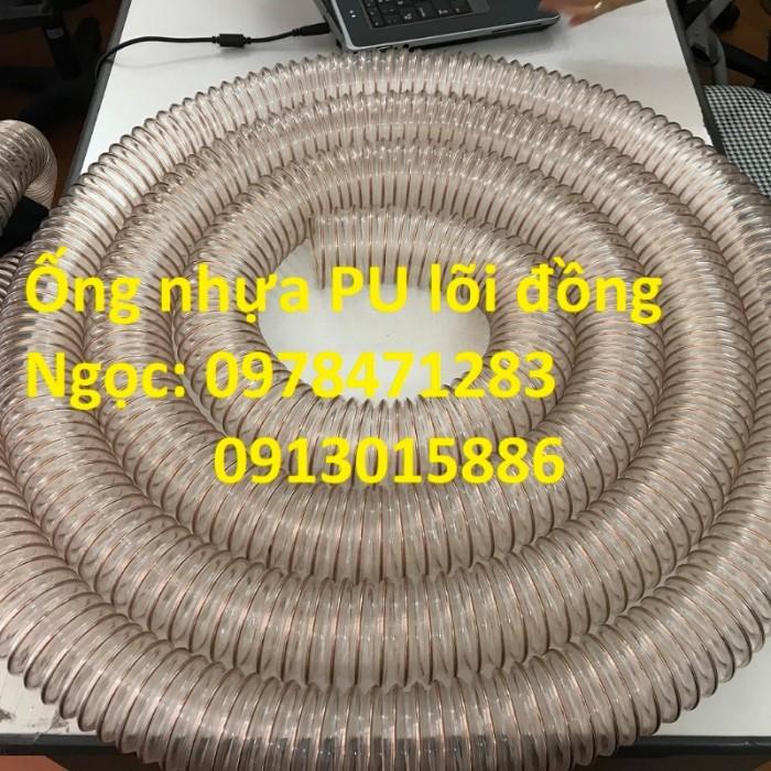 Nơi bán ống nhựa PU lõi thép mạ đồng phi 50, phi 60, phi 75, phi 100, phi 1101