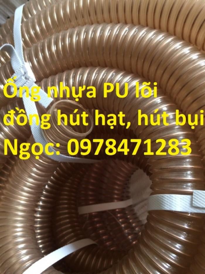 Nơi bán ống nhựa PU lõi thép mạ đồng phi 50, phi 60, phi 75, phi 100, phi 1105