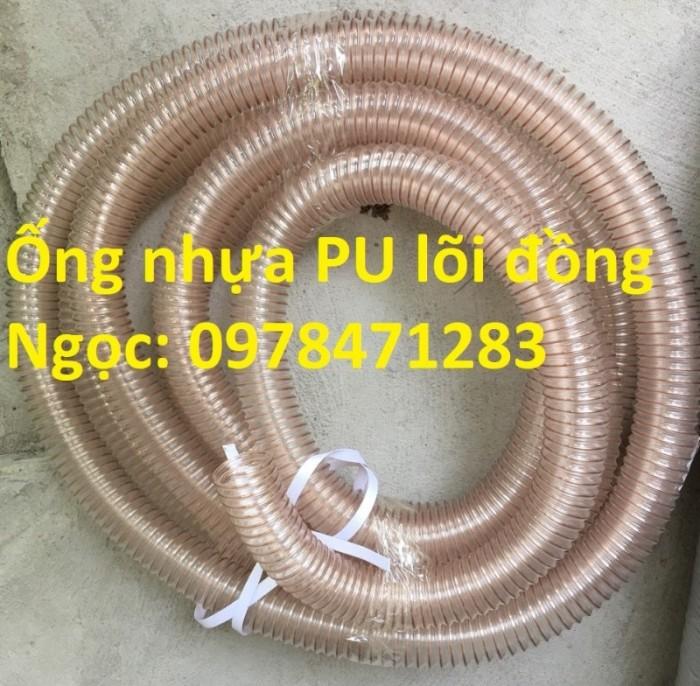 Nơi bán ống nhựa PU lõi thép mạ đồng phi 50, phi 60, phi 75, phi 100, phi 1102
