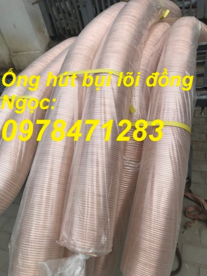 Nơi bán ống nhựa PU lõi thép mạ đồng phi 50, phi 60, phi 75, phi 100, phi 11010