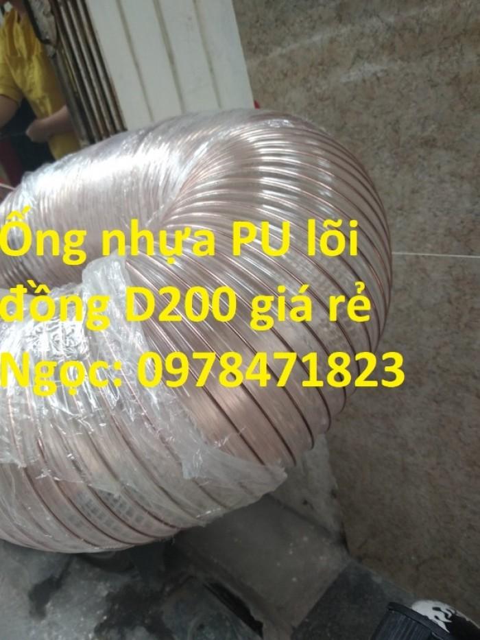 Nơi bán ống nhựa PU lõi thép mạ đồng phi 50, phi 60, phi 75, phi 100, phi 1109