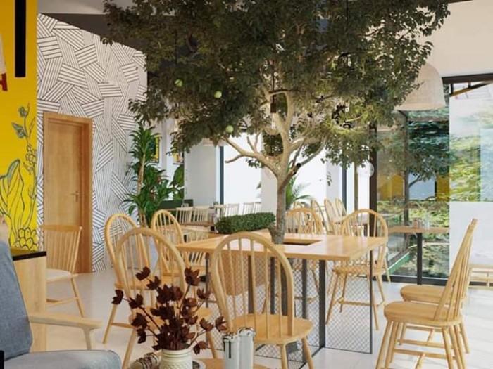 Bàn ghế gỗ nhiều màu dùng cho các cafê,nhà hàng,quán ăn,bar,resort…3