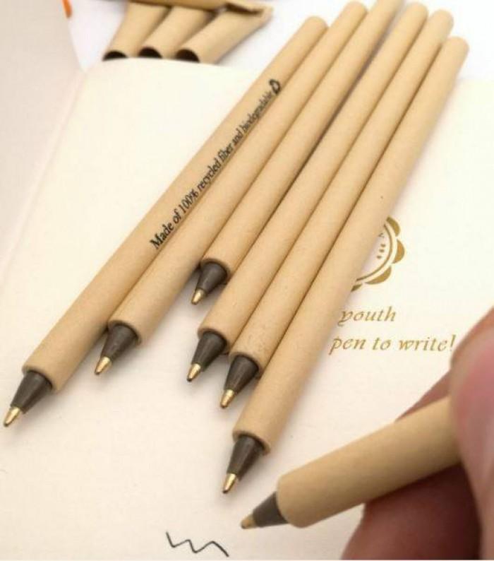 Brandde chuyên sản xuất cung cấp bút bi giấy in ấn logo quảng cáo5