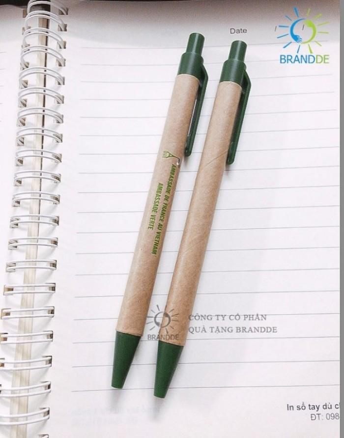 Brandde chuyên sản xuất cung cấp bút bi giấy in ấn logo quảng cáo12