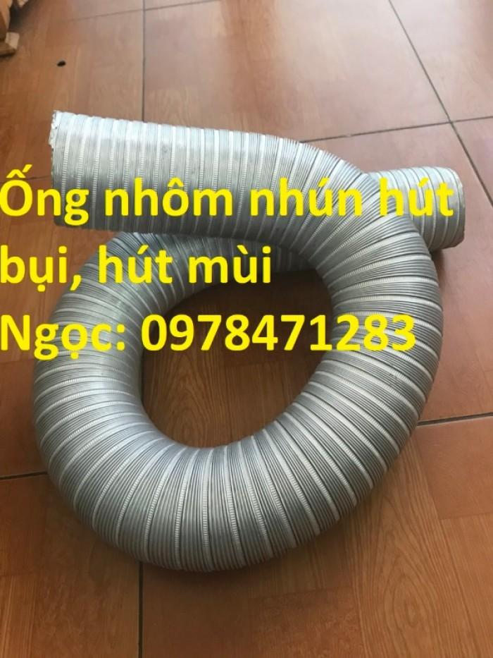 Địa chỉ bán ống nhôm nhún( ống gió mềm nhôm cứng) giá rẻ.2