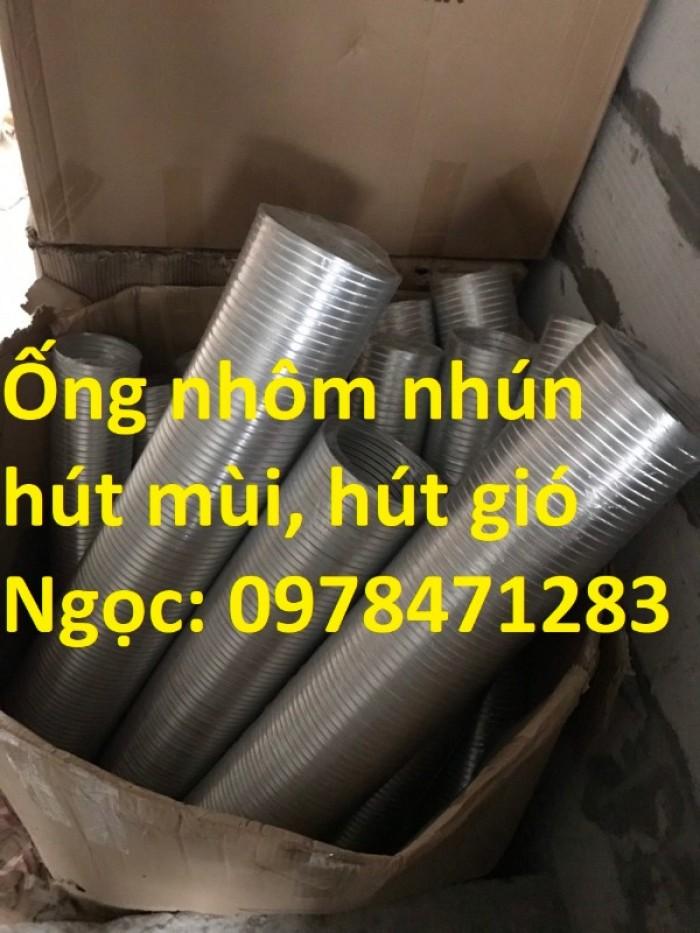 Địa chỉ bán ống nhôm nhún( ống gió mềm nhôm cứng) giá rẻ.1
