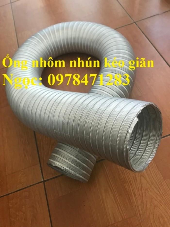 Địa chỉ bán ống nhôm nhún( ống gió mềm nhôm cứng) giá rẻ.9