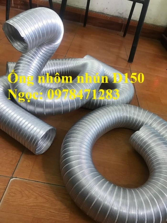 Địa chỉ bán ống nhôm nhún( ống gió mềm nhôm cứng) giá rẻ.3