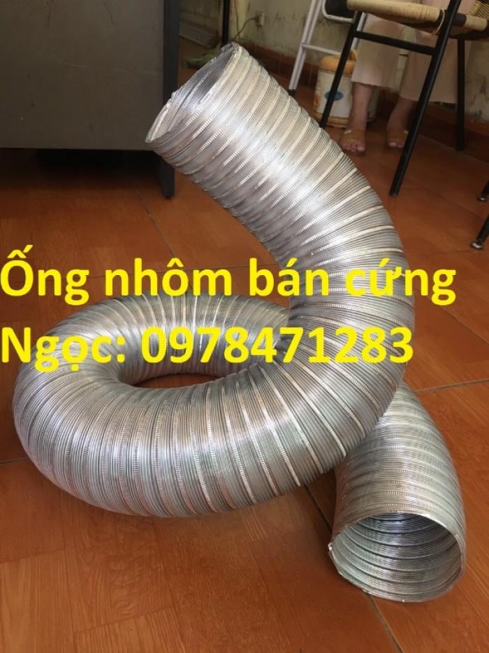 Địa chỉ bán ống nhôm nhún( ống gió mềm nhôm cứng) giá rẻ.8