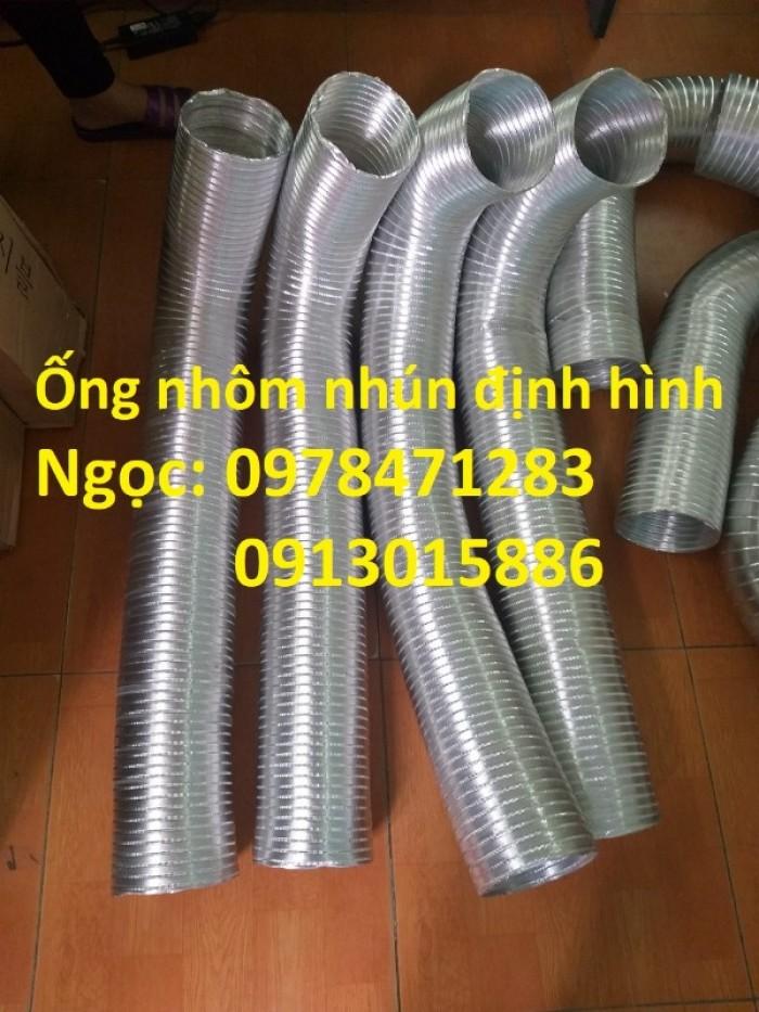 Địa chỉ bán ống nhôm nhún( ống gió mềm nhôm cứng) giá rẻ.7