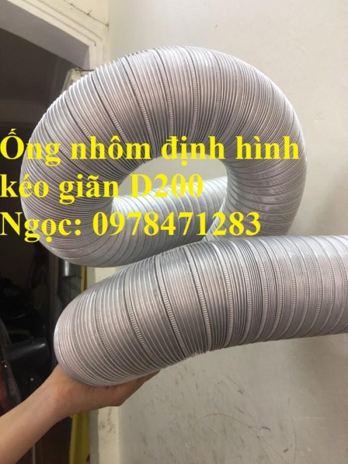 Địa chỉ bán ống nhôm nhún( ống gió mềm nhôm cứng) giá rẻ.4