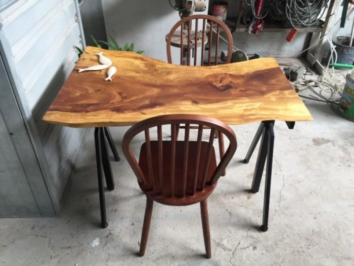 Mua Mặt bàn gỗ me tây nguyên miềng, mua đôn gỗ, chân bàn sắt TPHCM  0986 68 69685
