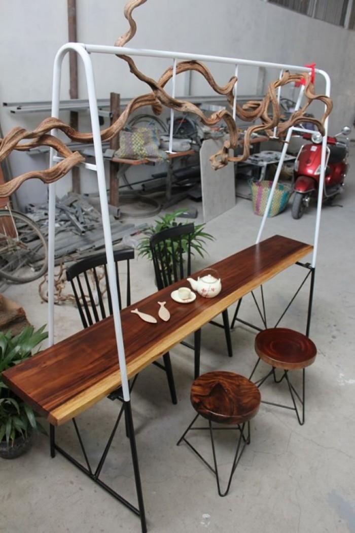 Mua Mặt bàn gỗ me tây nguyên miềng, mua đôn gỗ, chân bàn sắt TPHCM  0986 68 696829