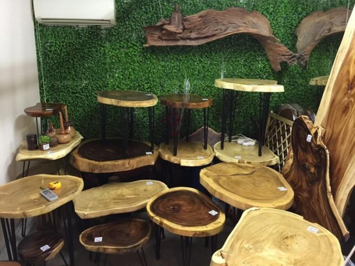 Mua Mặt bàn gỗ me tây nguyên miềng, mua đôn gỗ, chân bàn sắt TPHCM  0986 68 696822