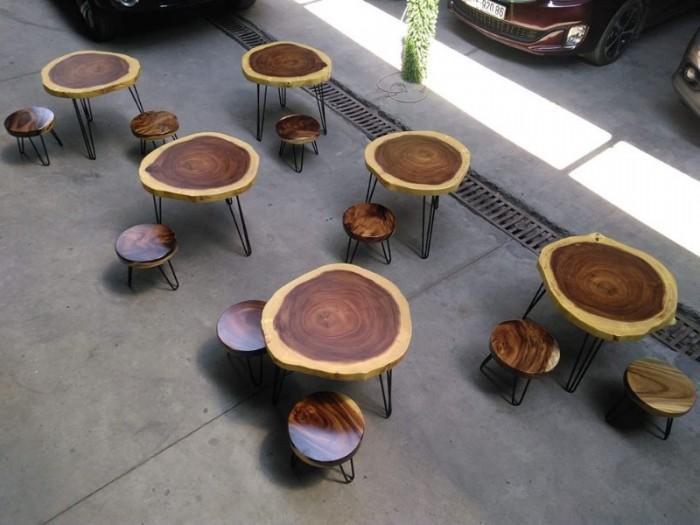Mua Mặt bàn gỗ me tây nguyên miềng, mua đôn gỗ, chân bàn sắt TPHCM  0986 68 696827