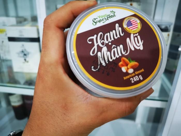 Hạnh Nhân Mỹ Your Super Food 240g 100% Nhập Khẩu Từ Mỹ - MSN1813654
