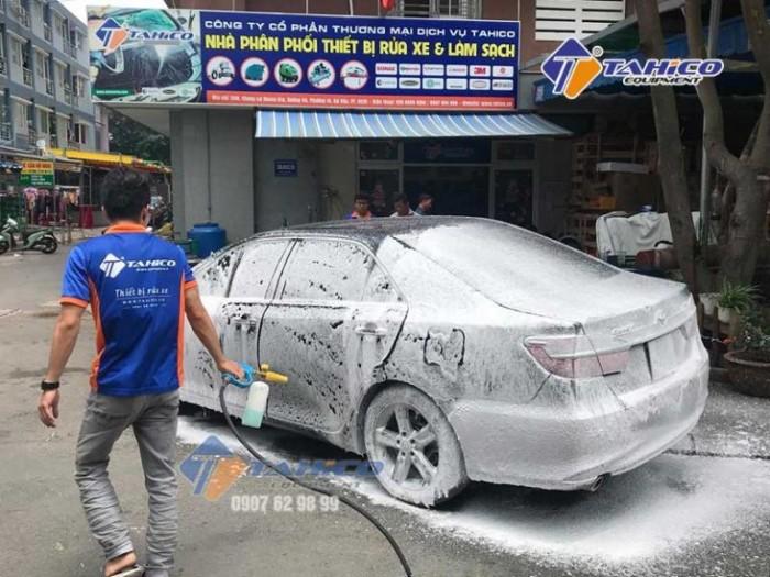 Dung dịch rửa xe không chạm Ventek VET75 20 lít Tại Plêy Ku3