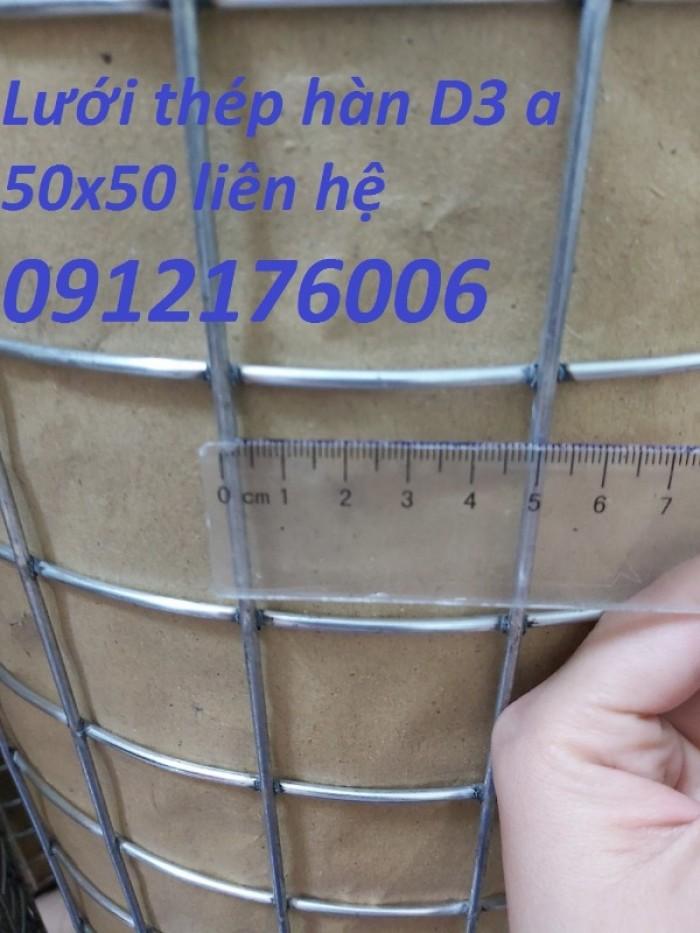 Lưới thép hàn mạ kẽm D3 ô 50 x5014