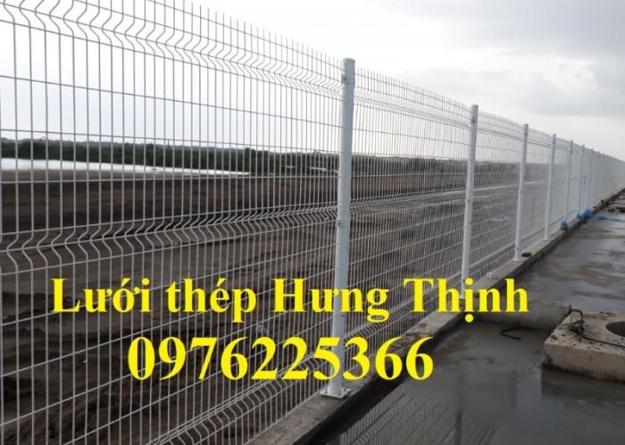 Hàng rào lưới thép mạ kẽm sơn tĩnh điện D5 a50x200 chấn sóng1
