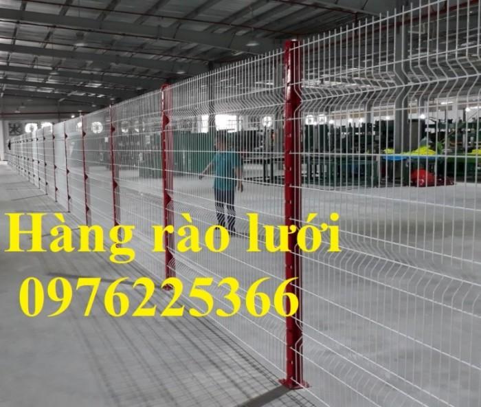 Hàng rào lưới thép mạ kẽm sơn tĩnh điện D5 a50x200 chấn sóng5