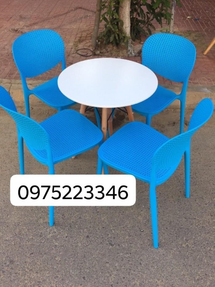 Ghế nhựa đúc thanh lý5