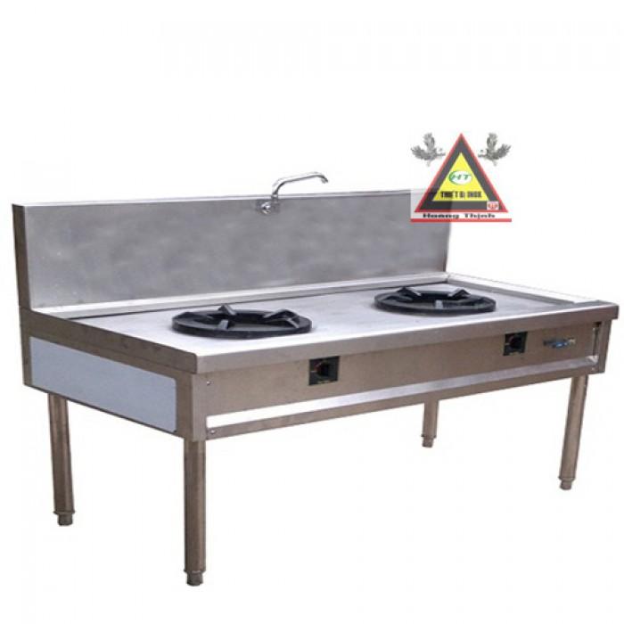 Bếp Á công nghiệp 2 họng đốt, bếp Á cho nhà hàng1