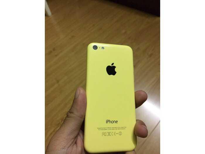 I phone 5c 16gb bản quốc tế mỹ (USA)2