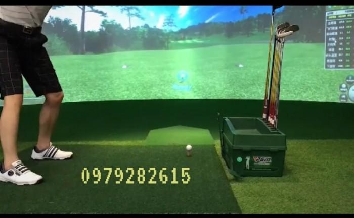 Thảm phát banh golf mới 100%1