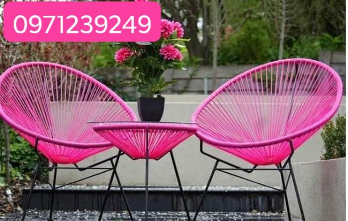 Bàn Ghế cafe Đep Quang Đại cung cấp sẩn phẩm bàn ghế mây nhựa, bàn ghế cafe..4