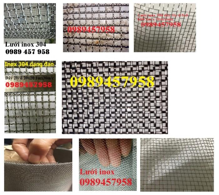 Lưới lọc công nghiệp inox304, inox316 120mesh, 200mesh, 300mesh, 400mesh0