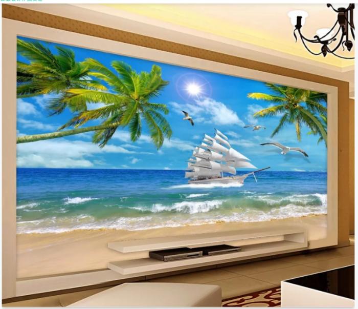 Tranh gạch 3D trang trí phòng khách5