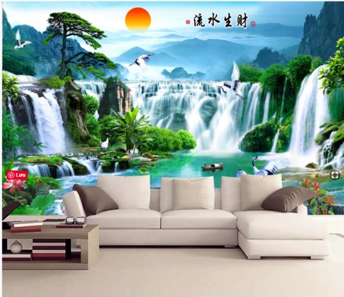 Tranh gạch 3D trang trí phòng khách7