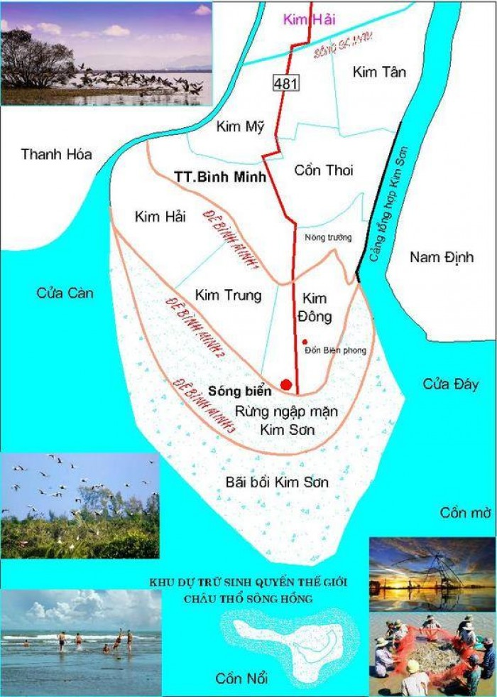 Bản đồ biển Kim Sơn1