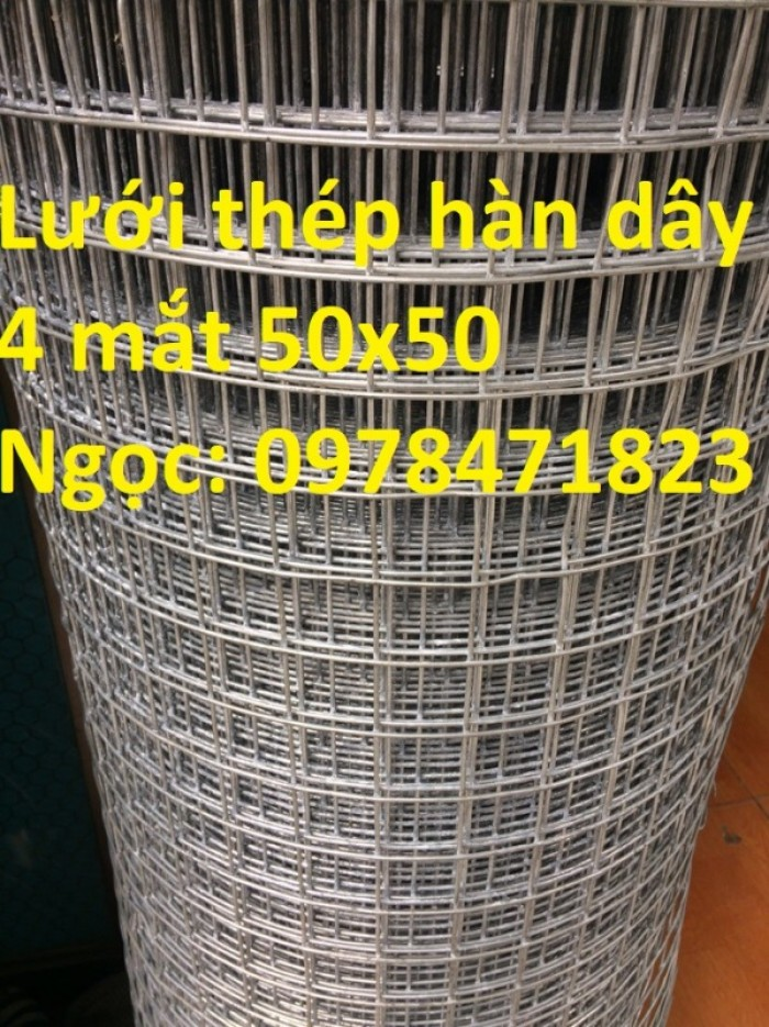 Hàng rào lưới thép hàn chấn sóng D5 A50x100 số lượng lớn9