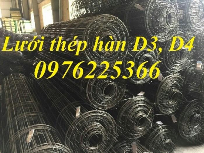 Lưới thép hàn D4 a200*200, cuộn 2x25m có sẵn1