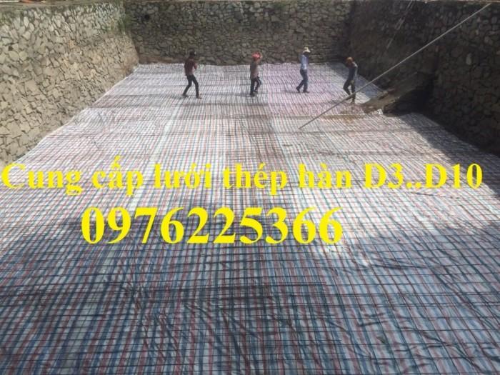 Lưới thép hàn D4 a200*200, cuộn 2x25m có sẵn6