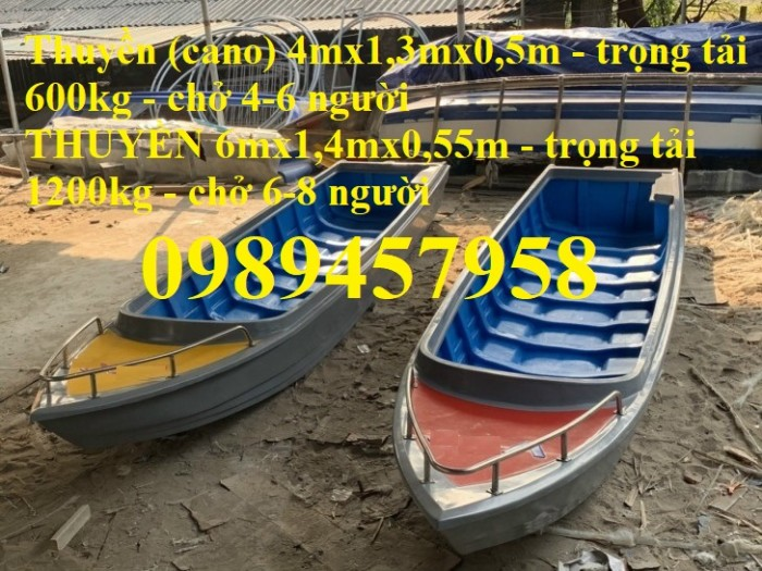 Bán Thuyền composite 4m, cano giá rẻ chở 4-6 người0
