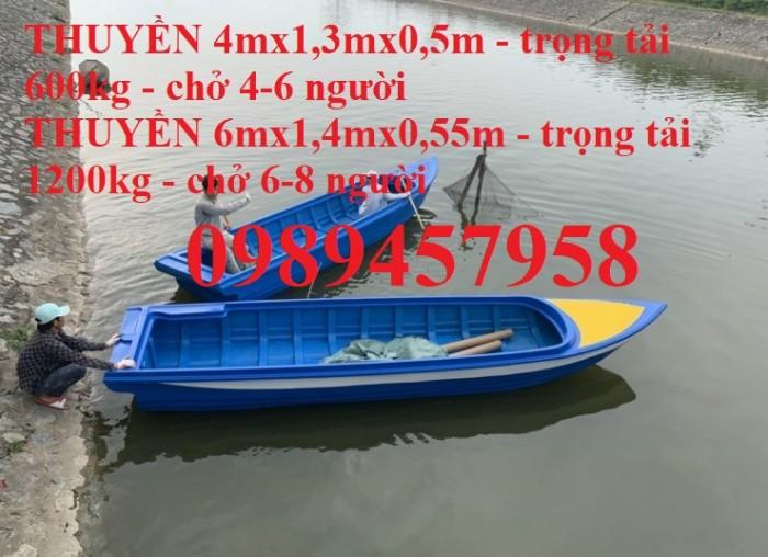 Bán Thuyền composite 4m, cano giá rẻ chở 4-6 người1