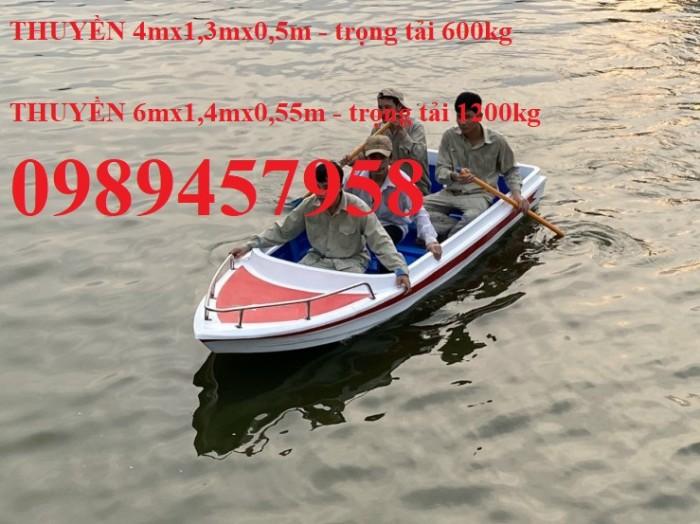 Bán Thuyền composite 4m, cano giá rẻ chở 4-6 người2