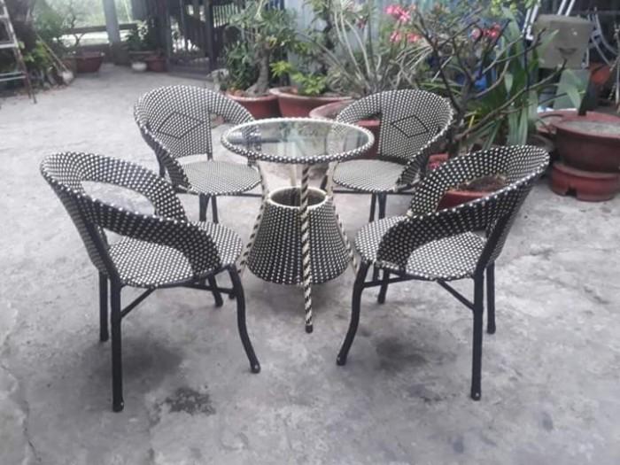 Chuyên sĩ lẻ bàn ghế nhựa giả mây cafe giá tốt nhất..2